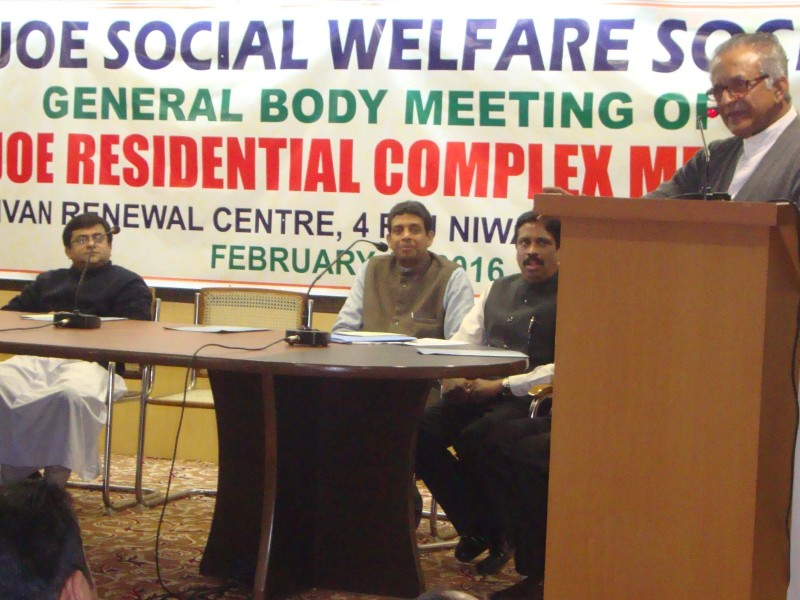 SANJOE SOCIAL WELFARE SOCIETY <br>(General Body Meet)